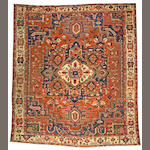 A Serapi carpet Northwest Persia, size approximately 10ft. x 11ft. 6in.