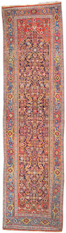 A Bidjar carpet Northwest Persia, size approximately 3ft. 8in. x 13ft. 8in.