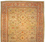 A Sultanabad carpet Central Persia, size approximately 14ft. 3in. x 20ft. 3in.