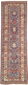 A Shirvan runner Caucasus, size approximately 3ft. 9in. x 11ft. 7in.
