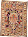A Shirvan rug Caucasus, size approximately 4ft. x 5ft. 6in.