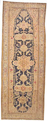 A Karabagh long carpet Caucasus, size approximately 6ft. 9in. x 18ft. 2in.
