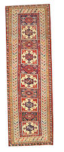 A Shirvan runner Caucasus size approximately 3ft 7in. x 11ft.