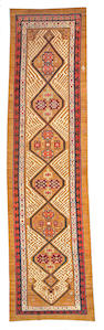 A Bakhshaish runner Northwest Persia size approximately 4ft. 1in. x 15ft. 10in.