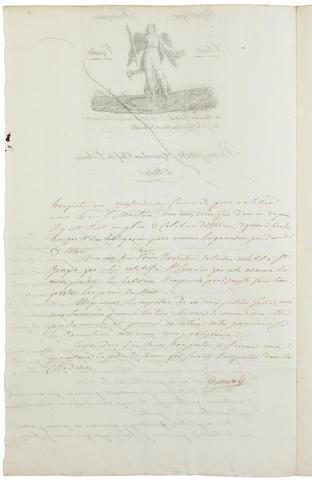 BONAPARTE, NAPOLEON.  1769-1821.
