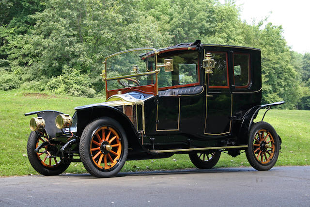 The ex-Gordon G Aselton, one owner since 1963,1912 Renault Type CB Coupe de Ville  Chassis no. 34673 Engine no. 2570