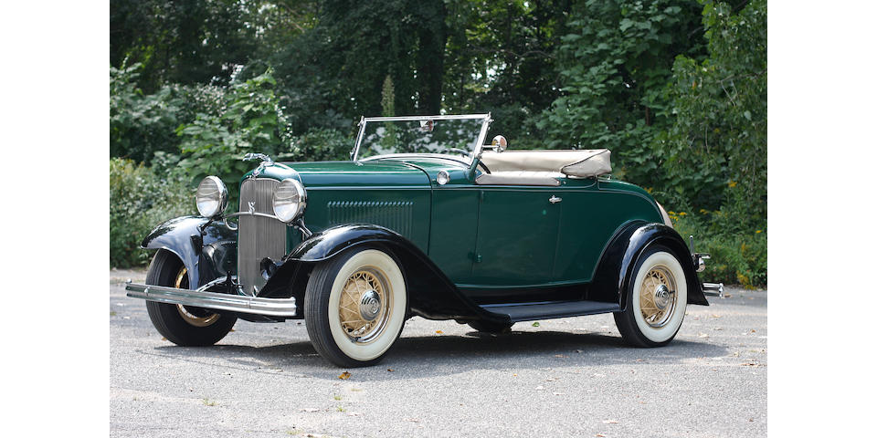 1932 Ford 18 Convertible with Rumble Seat