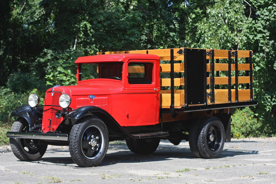 1934 Ford Model BB Platform Truck  Chassis no. BB 18974506