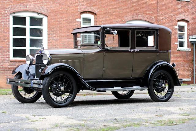 model a ford sedan weight