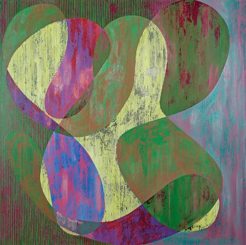Steve DiBenedetto (American, born 1958) Domestic Paralysis, 1988 60 x 60in (152.5 x 152.5cm) unframed