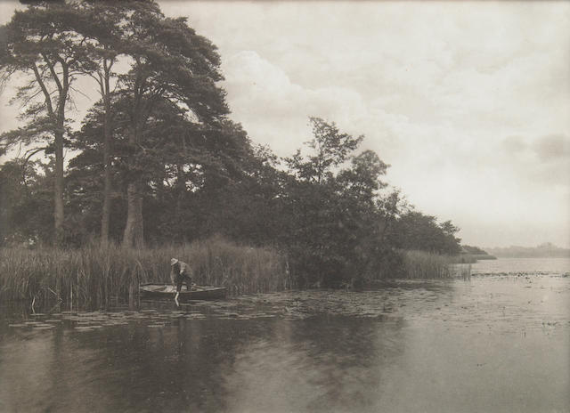 Peter Henry Emerson The Haunt of the Pike 1885 platinum print;