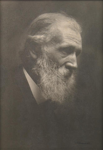 William E. Dassonville (American, 1879-1957); Portrait of John Muir;