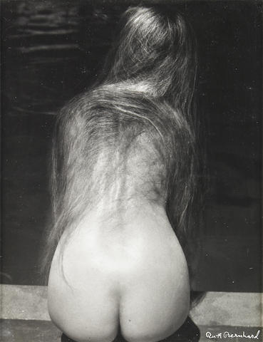 Ruth Bernhard  At the Pool 1950  vintage received year of photograph