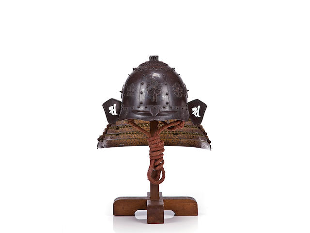 A Saika iron kabuto Muromach-Momoyama period (late 16th century)