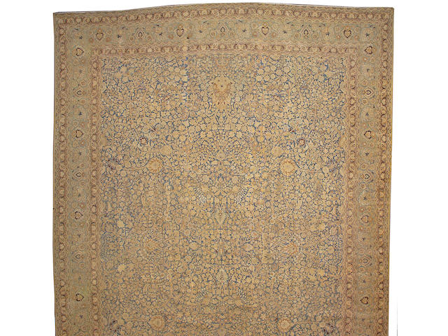 A Meshed carpet size approximately 19ft. 6in. x 13ft. 8in.