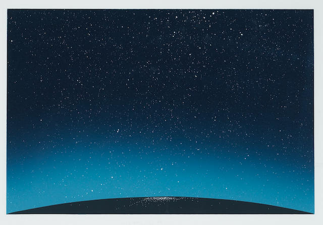 Edward Ruscha (American, born 1937); Any Town in the U.S.A.;