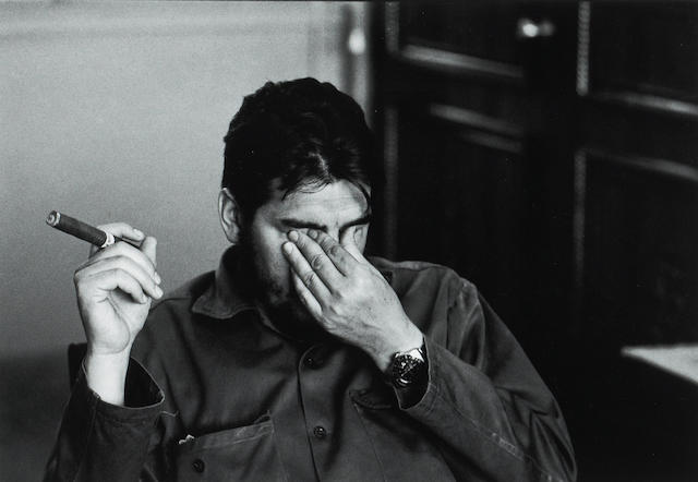 René Burri (Swiss, born 1933); Ernesto 'Che' Guevara, Havana, Cuba;