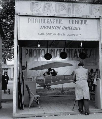 Robert Doisneau (French, 1912-1994); Photographie Aérienne;