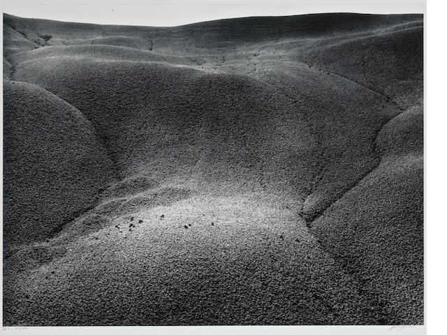 Ansel Adams (American, 1902-1984); Mudhills, Arizona, Pl. 2, from Portfolio V;