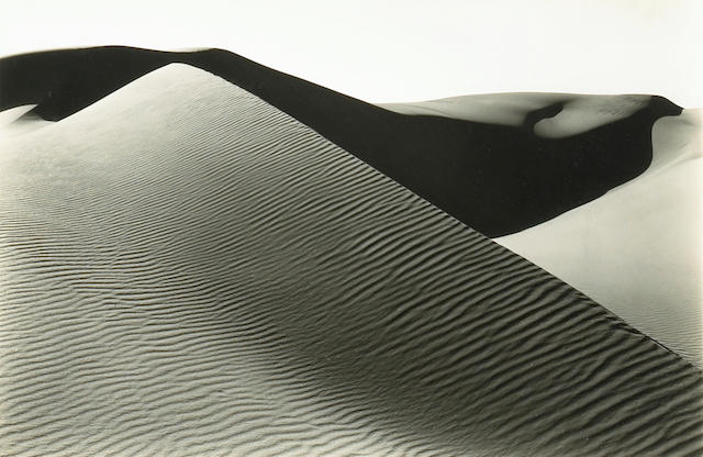 Brett Weston (American, 1911-1993); Dunes, Oceano, California;