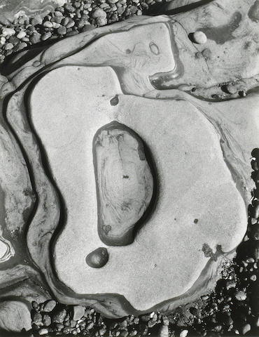 Brett Weston (American, 1911-1993); Eroded Rock;