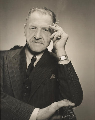 George Platt Lynes (American, 1907-1955); W. Somerset Maugham;