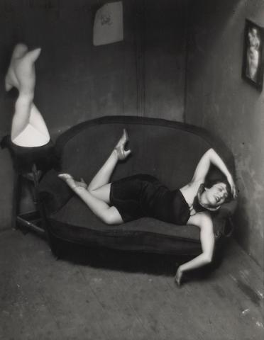 André Kertész (Hungarian/American, 1894-1985); Satiric Dancer;