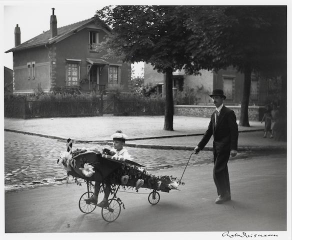 Robert Doisneau (French, 1912-1994); L'Aéroplane de Papa;