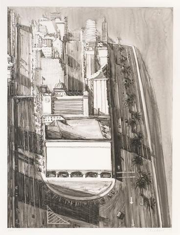 Wayne Thiebaud (American, born 1920); Untitled;
