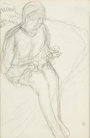 Pierre Bonnard (French, 1867-1947), AUTHENTICATING Elé, 1915 5 1/2 x 3 13/16in (14 x 9.7cm)
