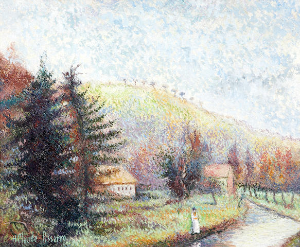 Hughes Claude Pissarro (French, born 1935) Le Pain de Sucre 19 11 1/6 x 24in (50 x 61cm)