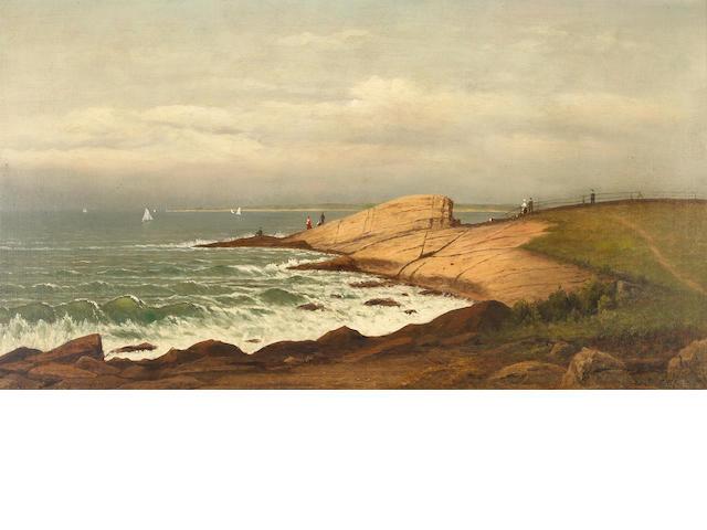 Charles Wilson Knapp (1823-1900), Morning, Narragansett