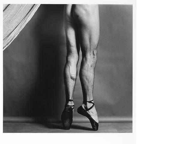 Robert Mapplethorpe (American, 1946-1989); Phillip, Legs on Toes;