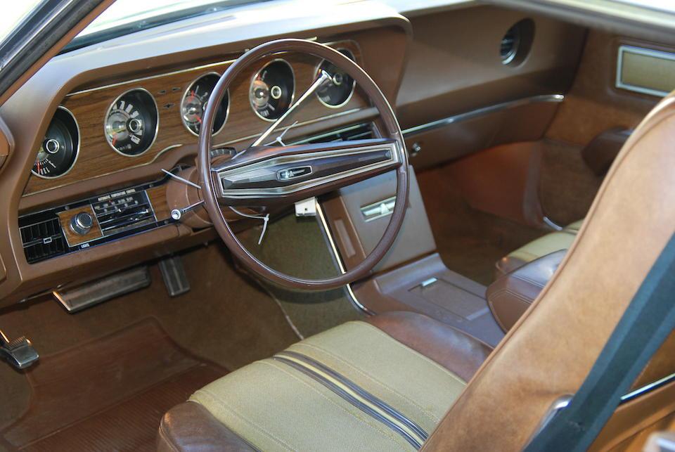 1970 Ford Thunderbird Landau Tudor  Chassis no. 0J84N134816