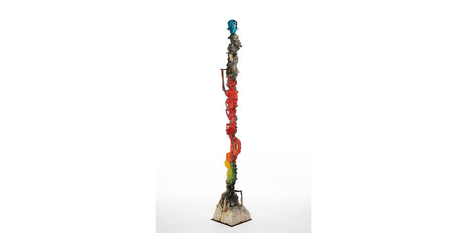Michael Lucero (American, born 1953) Blue High, 1990