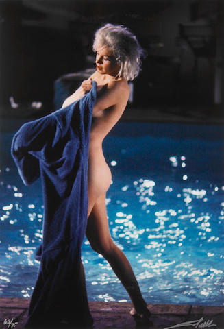 wrence Schiller Marilyn in the Pool
