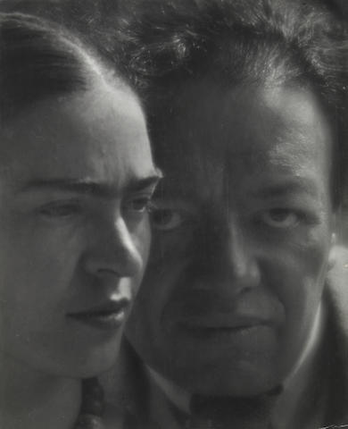 Martin Munkacsi (Hungarian, 1898-1963); Frida Kahlo and Diego Rivera, Mexico;