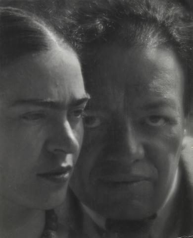 Martin Munkasci; Diego Rivera and Frida Kahlo, Mexico 1934; Provenance: Howard Greenberg Gallery