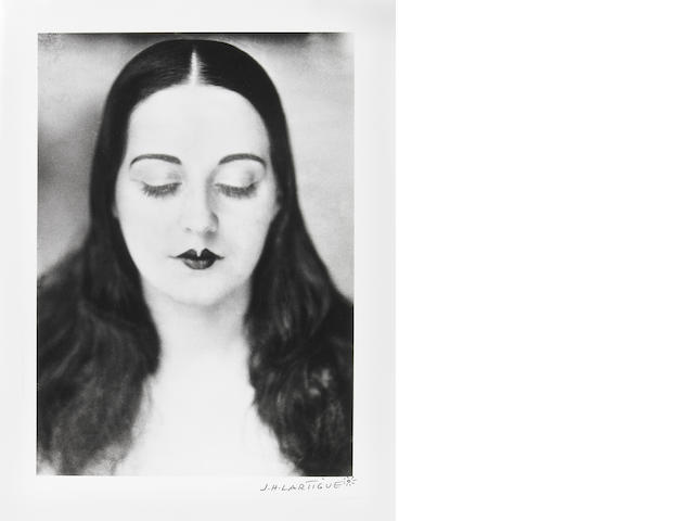JH Lartigue Solange 1929/later gelatin silver print