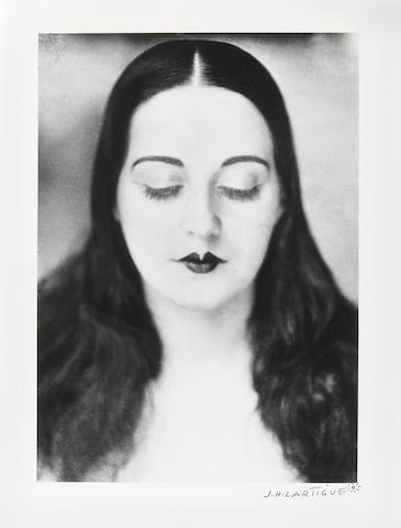 JH Lartigue Solange 1929/later gelatin silver print