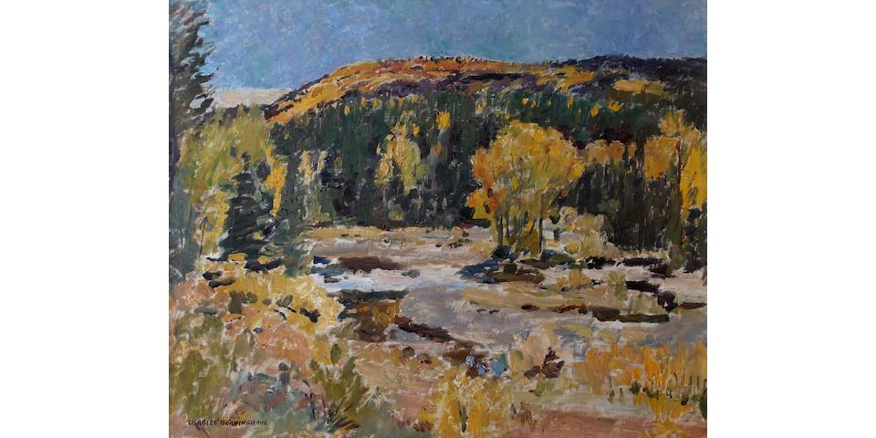 Julius Charles Berninghaus (American, 1905-1971) Autumn Landscape