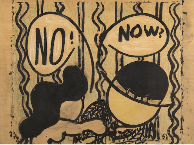 William Nelson Copley (American, 1919-1996) NO! NOW?, 1963