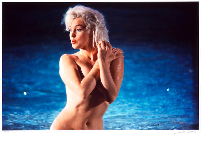 Lawrence Schiller (American, born 1936); Marilyn Monroe in the Pool;