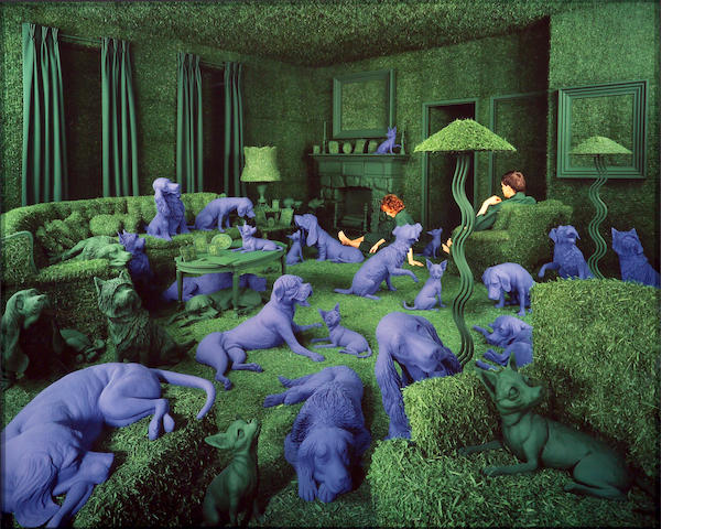 Sandy Skoglund (American, born 1946); Green House;