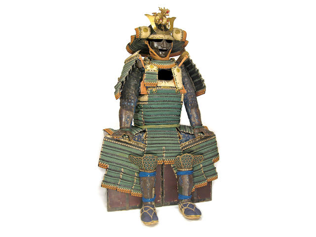 AN O-YOROI ARMOR Late Edo period (19th century)