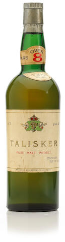 Talisker-Over 8 years old