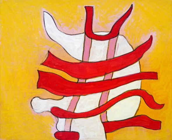 Thomas Nozkowski (American, born 1944) Untitled, 1996 5 x 6in (12.6 x 15.2cm)