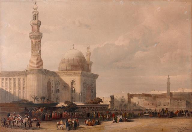 David Roberts, RA (British, 1796-1864); (4)