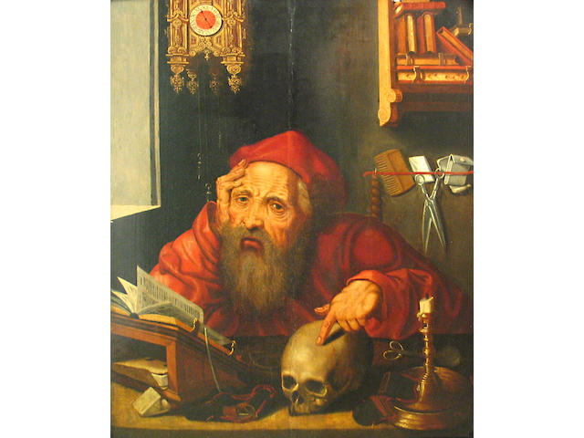 After Durer, St. Jerome