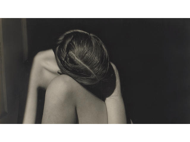 Edward Weston (American, 1886-1958); Nude (Charis, Santa Monica);